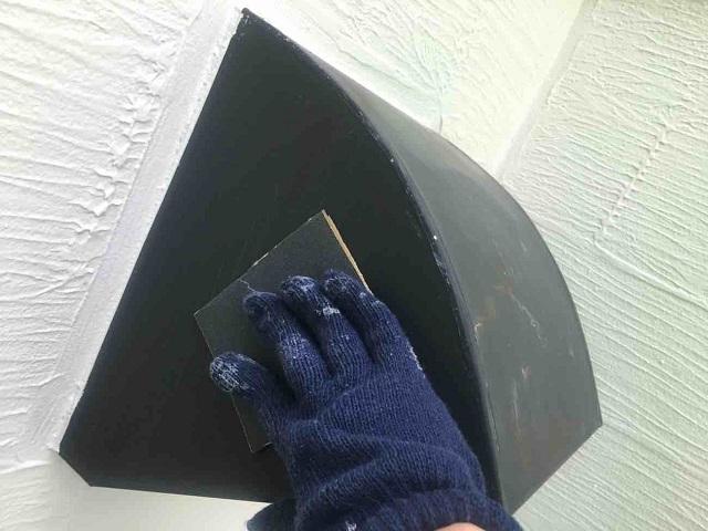東京都 東村山市 屋根カバー工事 外壁塗装作業 付帯部塗装 換気フードケレン作業