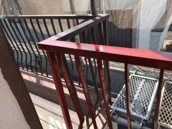 所沢市北野南 屋根カバー、外壁塗装工事 付帯部塗装2