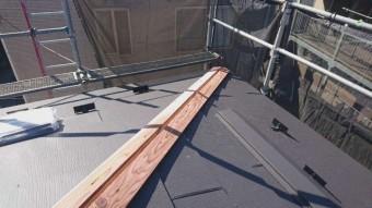 所沢けやき台 屋根葺き替え 貫板
