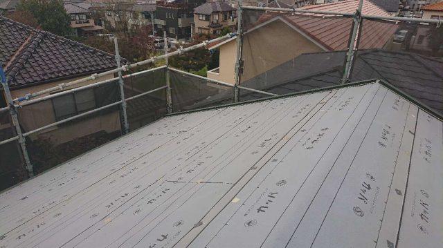 狭山祇園 屋根カバー ルーフィング