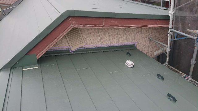 狭山祇園 屋根カバー 水切り板金