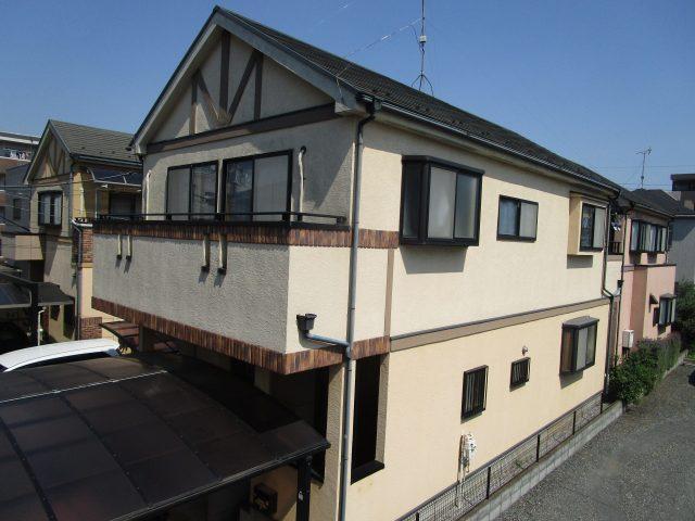 所沢市 東所沢 屋根塗装 外壁塗装 現場調査