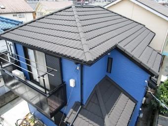 屋根カバーセネター施工後