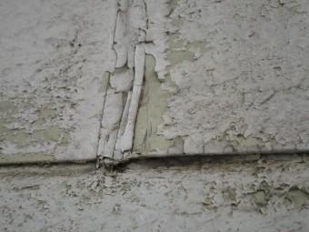 外壁塗膜剥離