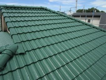 狭山市 広瀬台 屋根・外壁塗装 施工完了