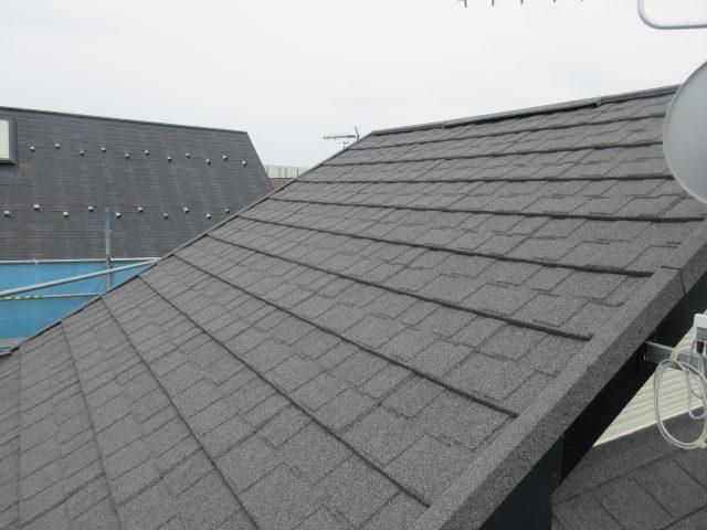 所沢市東所沢 屋根カバー、外壁塗装工事 施工後写真