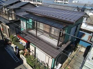 所沢市 松郷 屋根葺き替え 外壁塗装 他 施工後
