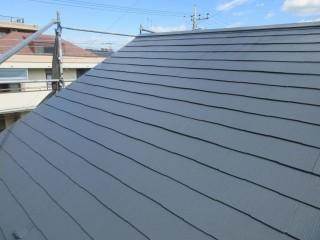 所沢市 東所沢 屋根 外壁塗装 施工後