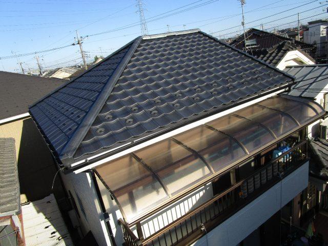 所沢市 西狭山ケ丘 屋根葺き替え 外壁塗装工事 施工後