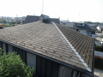 屋根の様子1