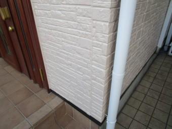 入間市 付帯部塗装 雨樋塗装後
