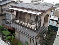 所沢市 松郷 屋根葺き替え 外壁塗装 他 施工前