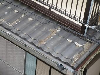 所沢市 松郷 セキスイかわらU葺き替え 1階部分屋根 施工前