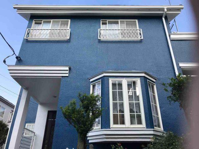 所沢市 小手指元町 屋根カバー 外壁塗装 付帯部 塗装仕上げ (11)