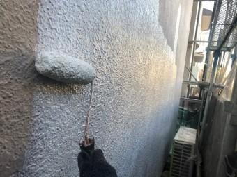 所沢市 松郷 外壁塗装 下塗り
