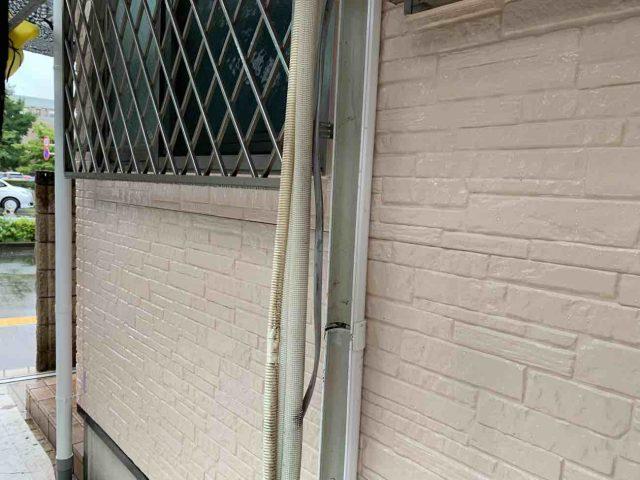 入間市 屋根、外壁塗装工事 エアコンカバー取付 (4)