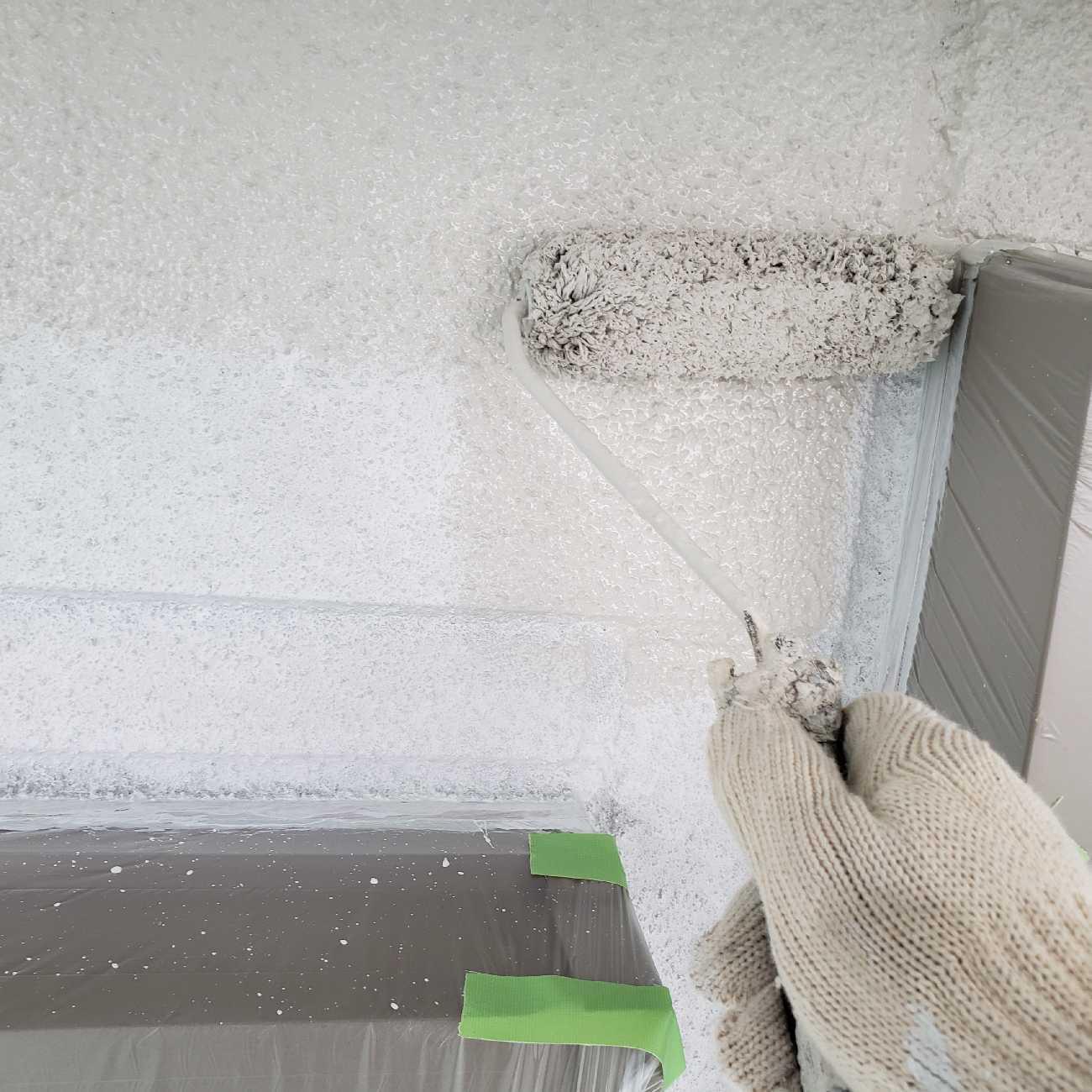 所沢市 北秋津 フッ素樹脂塗料 外壁塗装 (2)
