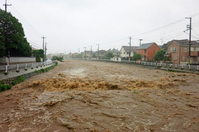 所沢市のハザードマップで台風と洪水に備えましょう