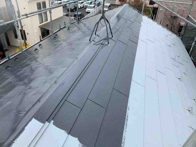 所沢市 上新井 屋根塗装 フッ素樹脂塗料 (7)