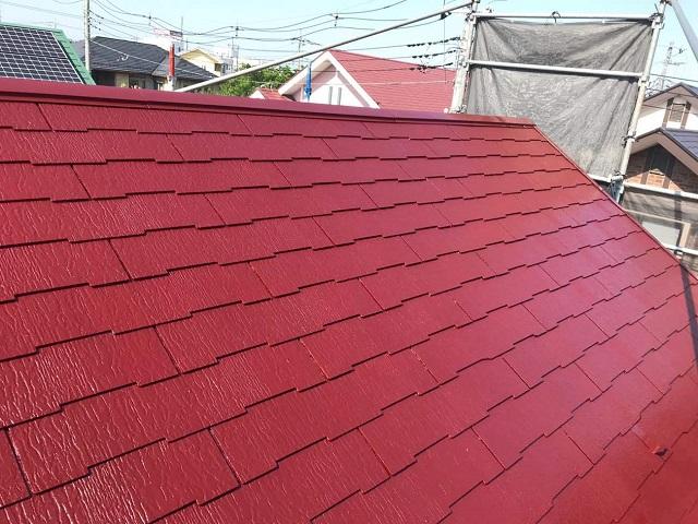 狭山市広瀬 屋根・外壁塗装 屋根塗装4