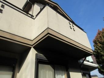東京都 東村山市 屋根カバー工事 外壁塗装作業 付帯部塗装 ベランダ塗装 施工前