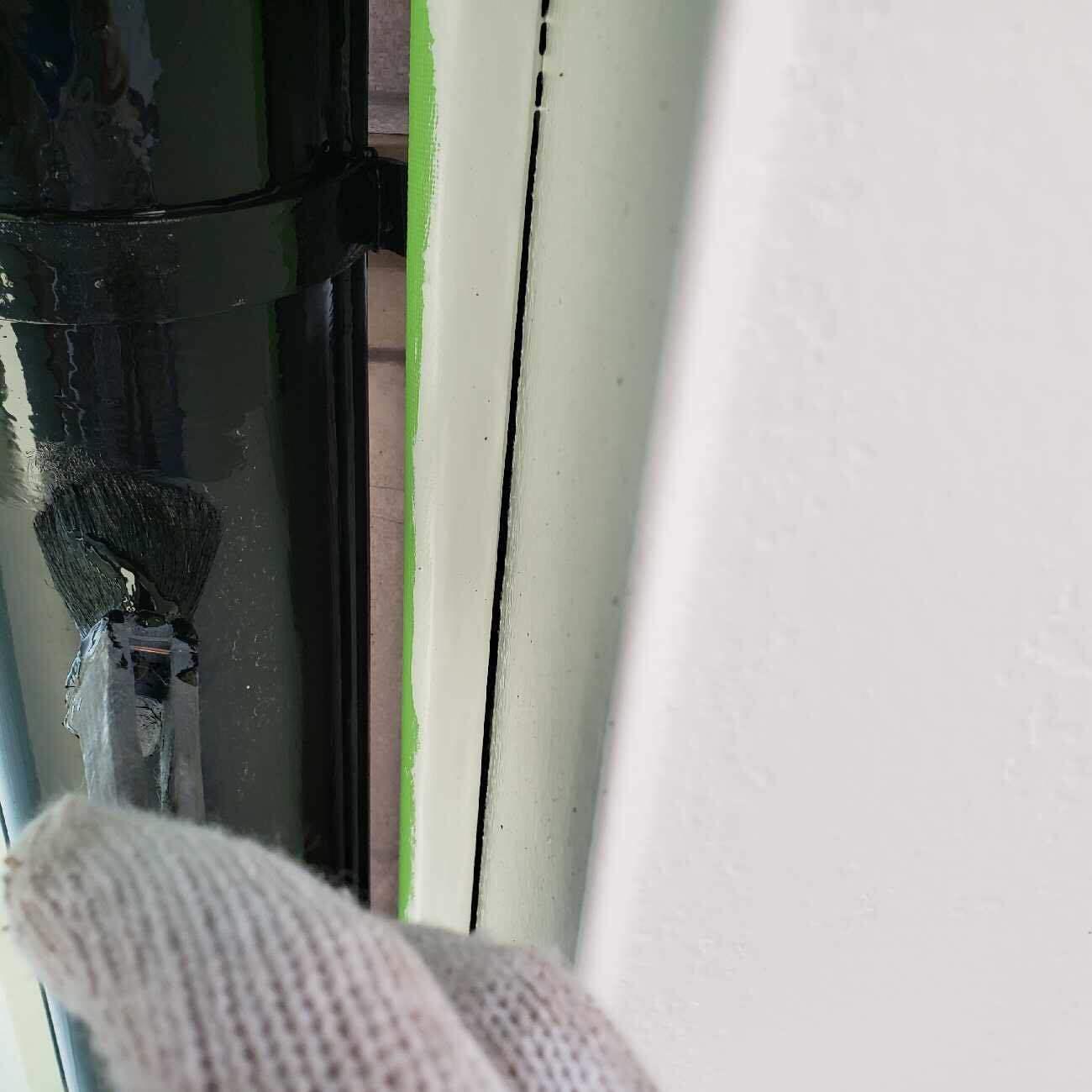 所沢市東所沢 屋根、外壁塗装 付帯部塗装作業 (23)