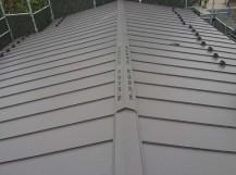 所沢市北中 セキスイかわらU屋根 葺き替え工事 立平スタンビー 施工後