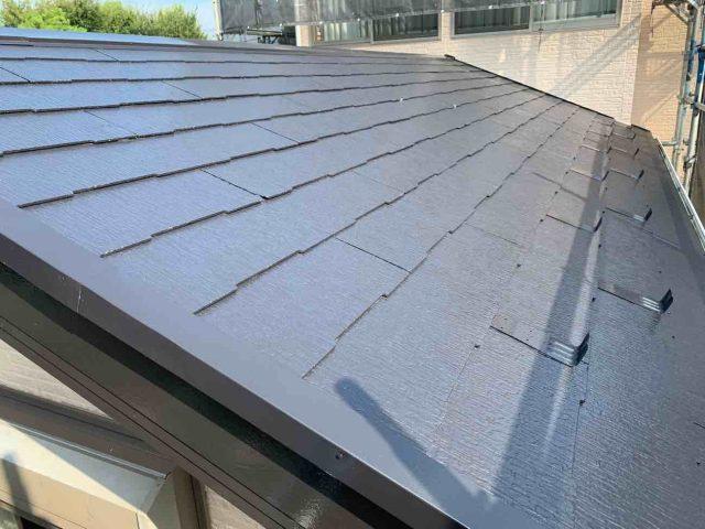 入間市 屋根塗装 無機塗料 (5)