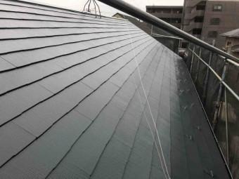 所沢市 東所沢 屋根塗装 フッ素塗料 (9)