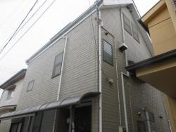 所沢市和ケ原 屋根カバー工事、外壁塗装、ベランダ防水工事 施工前