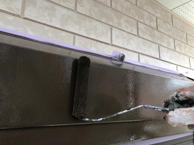 狭山市広瀬 屋根・外壁塗装 付帯部塗装 シャッターボックス塗装