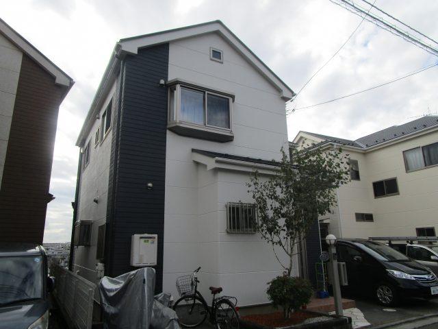 所沢市 北秋津 屋根カバー工事 外壁塗装 施工後 (3)