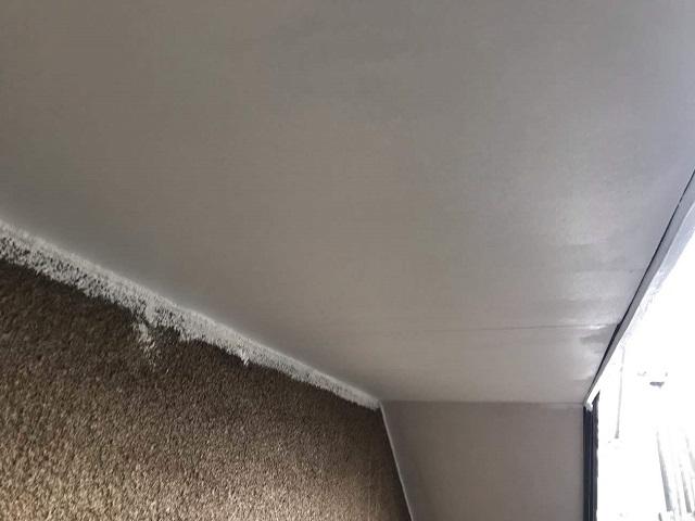 軒天塗装 施工後