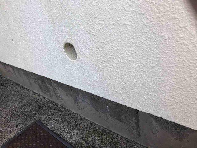 所沢市 小手指元町 屋根カバー 外壁塗装 高圧洗浄 養生作業 (15)