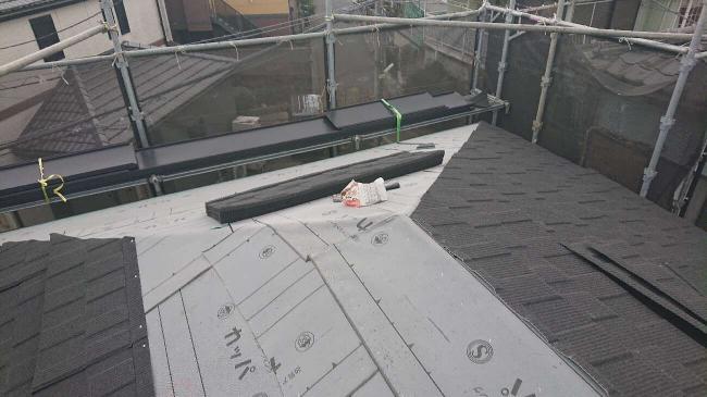 変換 ~ 所沢市 屋根葺き替え 雨樋交換 セネター施工 (11)