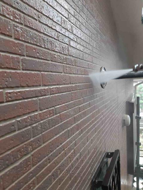 変換 ~ 入間市 屋根カバー 外壁塗装工事 高圧洗浄作業 (3)
