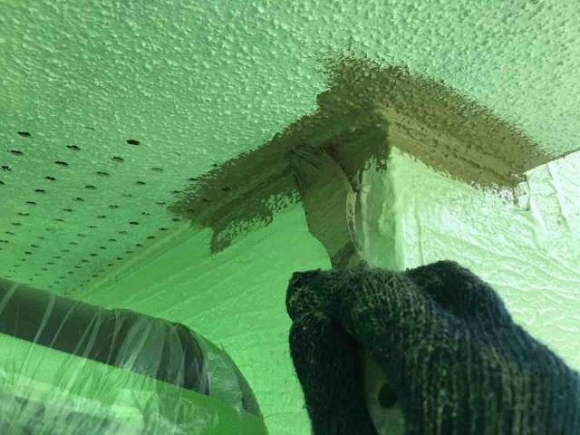 東京都 東村山市 屋根カバー工事 外壁塗装作業 付帯部塗装 軒天