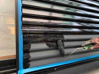 所沢市東所沢 屋根、外壁塗装 付帯部塗装作業 (1)
