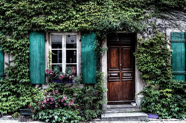 海外のオシャレなドア