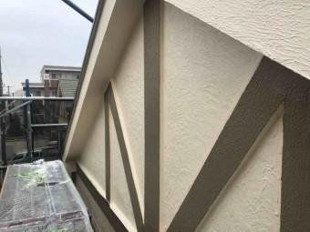 所沢市 東所沢 外壁塗装 帯板 塗装 (5)