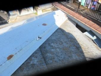 狭山市笹井 屋根カバー、葺き替え工事 外壁塗装 現地調査 屋根の劣化