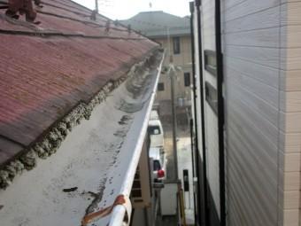 所沢市北野南 屋根カバー、外壁塗装工事 現場調査2