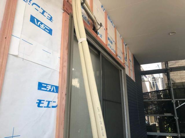 変換 ~ 所沢市 屋根葺き替え サイディング工事 サイディング施工 (4)