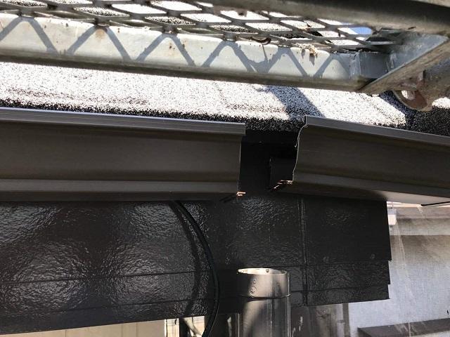 所沢市和ケ原 屋根カバー、天窓撤去、外壁塗装工事 雨樋交換4