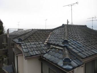 東京都東大和市 屋根葺き替え、外壁塗装工事 現地調査 (16)