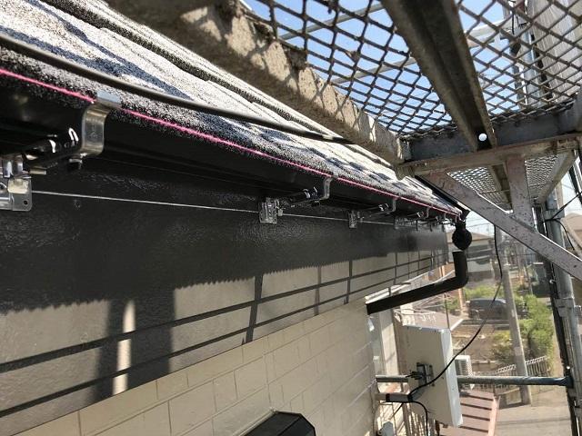 所沢市和ケ原 屋根カバー、天窓撤去、外壁塗装工事 雨樋交換3軒樋金具取付