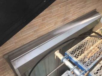 入間市 屋根・外壁塗装 高圧洗浄作業 (14)