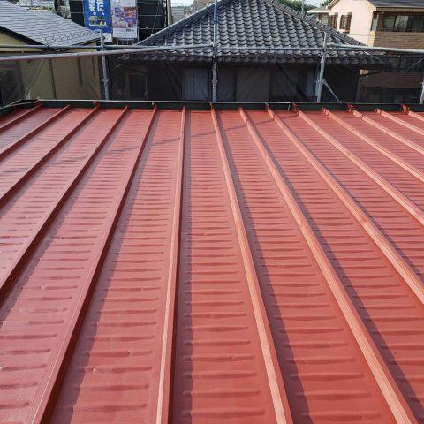 所沢市東所沢 屋根塗装作業 (10)