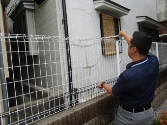 所沢市西狭山ケ丘 屋根葺替え、外壁塗装工事 現地調査 (8)