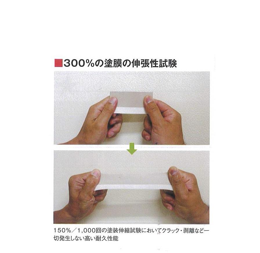 高性能塗料 伸張性試験